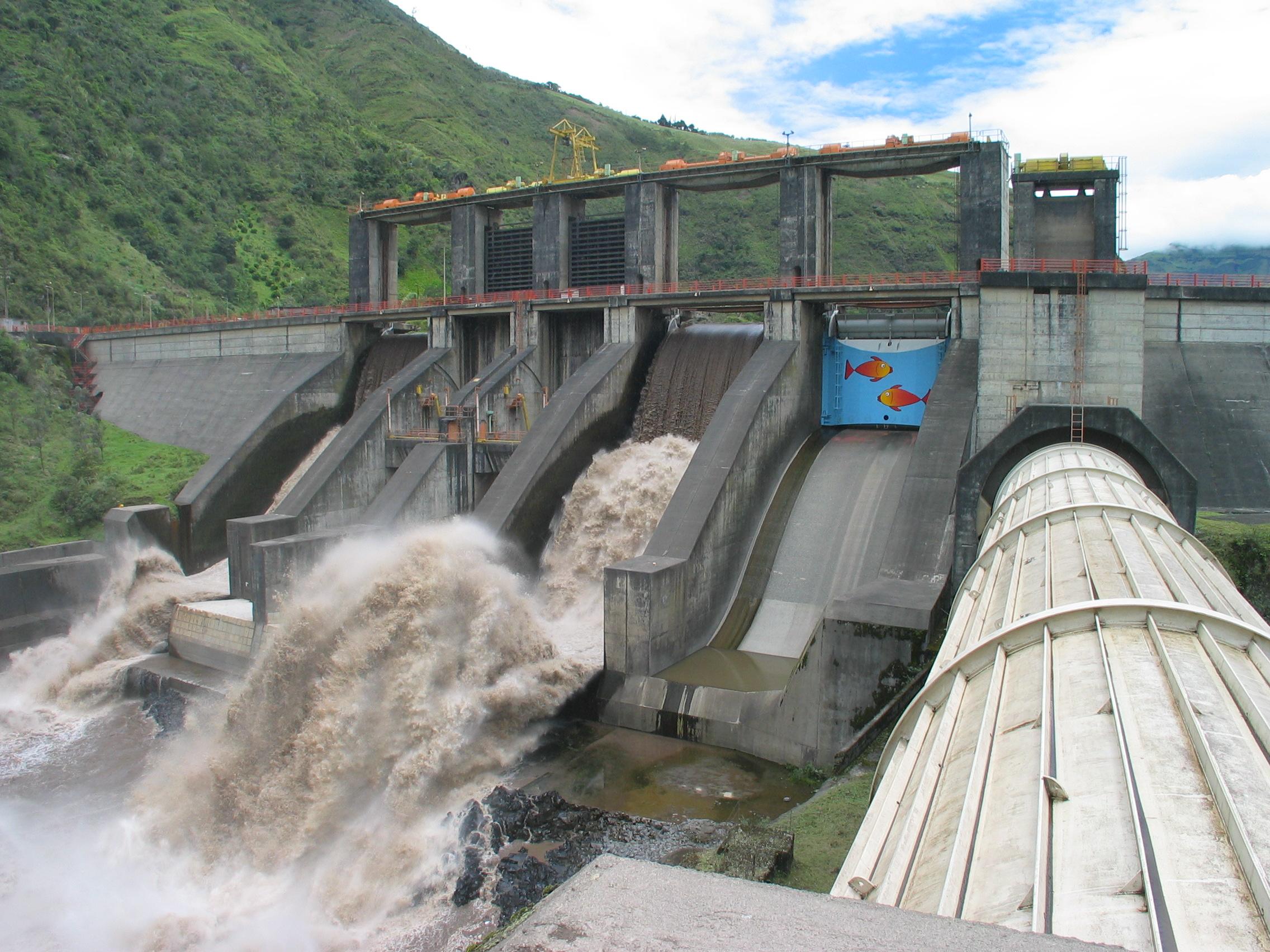 Central hidroeléctrica Chaglla presenta un avance en sus obras de mas del 50%