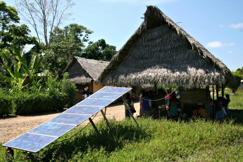 Se instalaron 6,000 paneles solares en lo que va del año a beneficio de 27,000 pobladores
