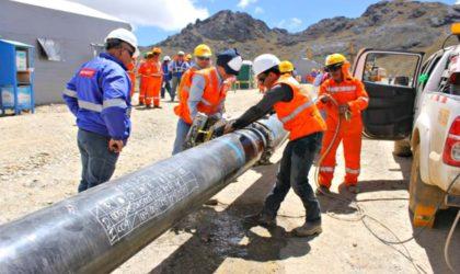 Gobierno firmó el acta para la adjudicación de bienes del gasoducto sur Peruano