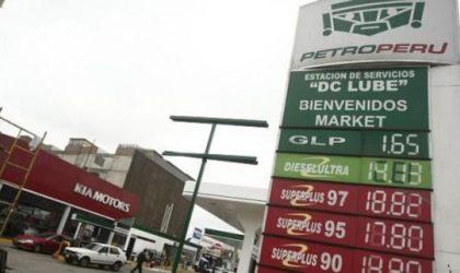 Opecu: Petroperú sube precios de gasoholes hasta 1.5% por galón