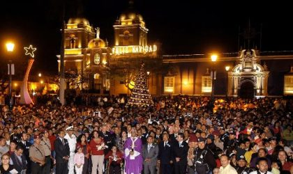 Trujillo cuenta con la primera Plaza de Armas del Perú con iluminación led