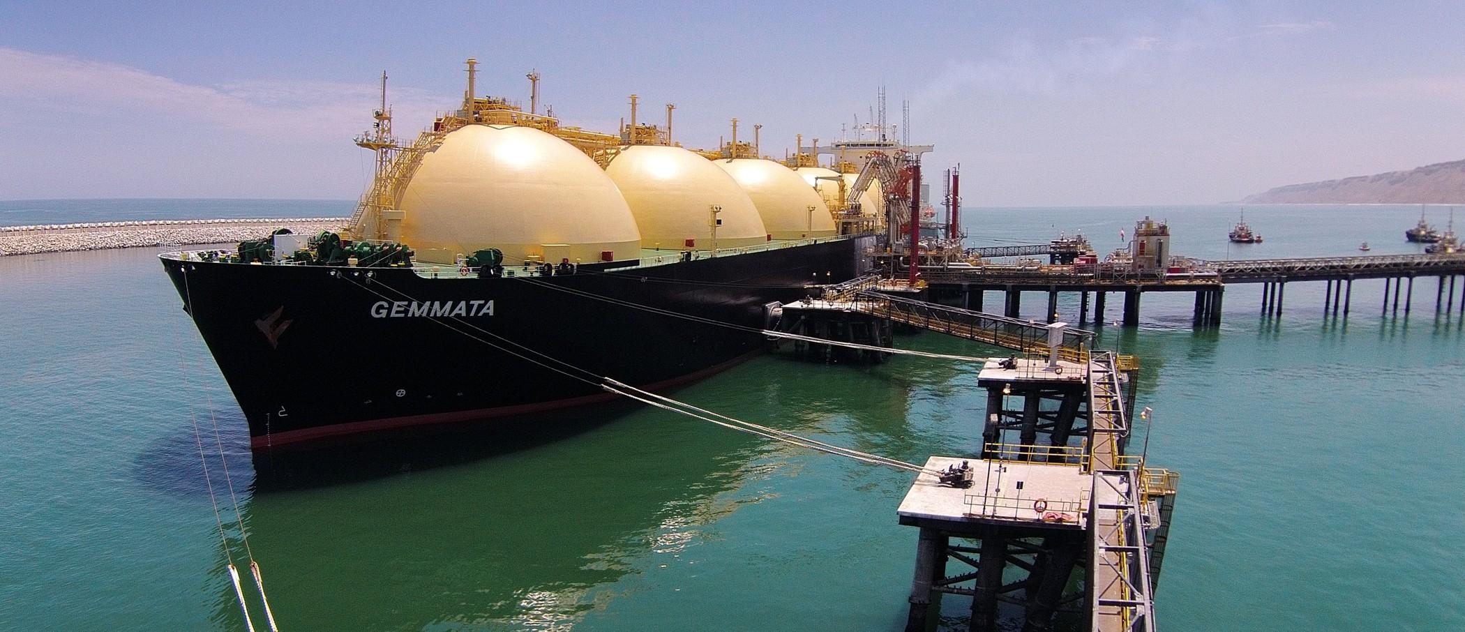 Mientras reparan rotura de ducto, LNG suspende exportación de gas natural licuado