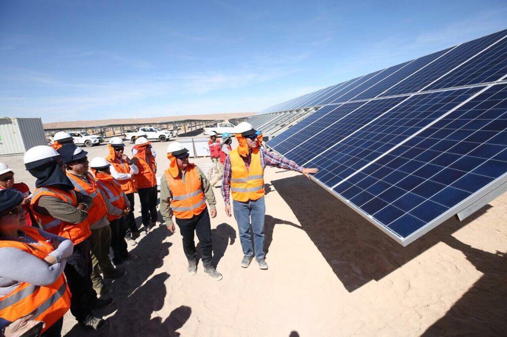 Enel inicia producción en planta solar Rubí