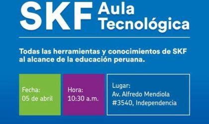 Se inaugurará la primera Aula Tecnológica el jueves 5 de abril