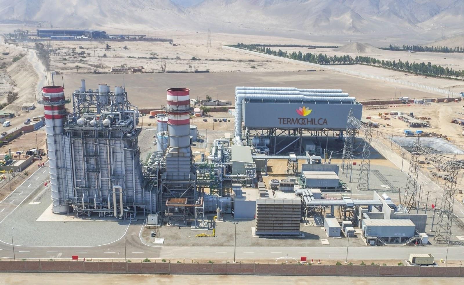 Ponen en venta el 100% de las acciones de la Generadora Eléctrica Termochilca