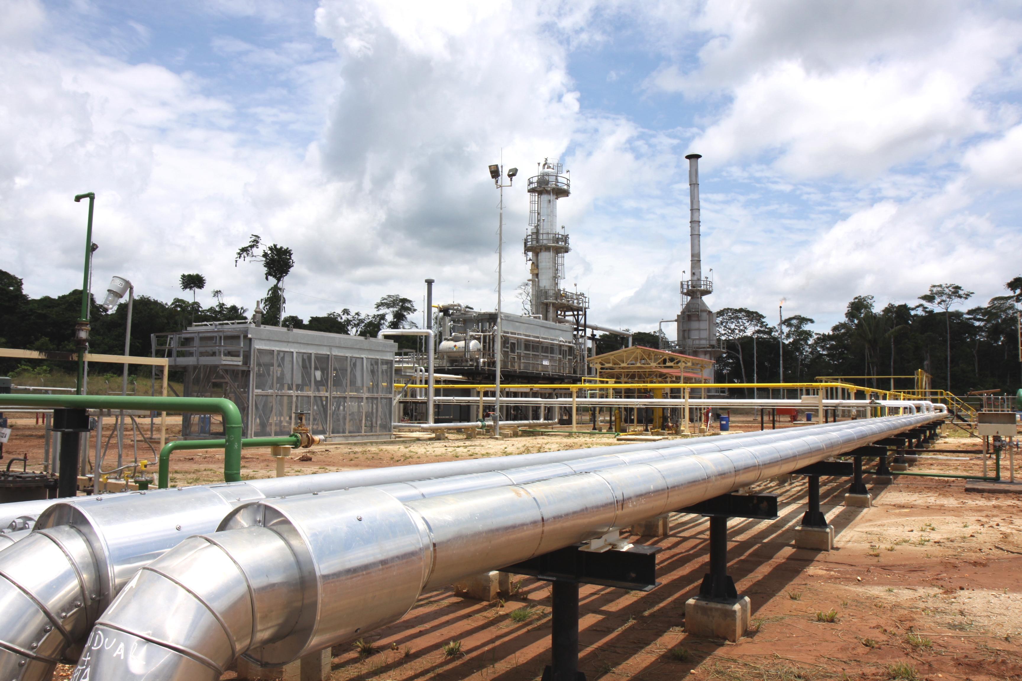Filtración del líquido de Gas de Camisea en el kilómetro 307