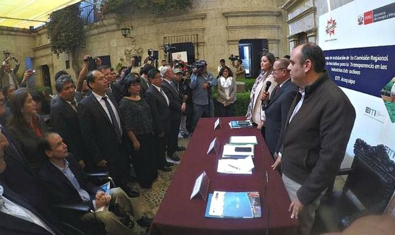 Arequipa: Se establece Comisión Regional EITI