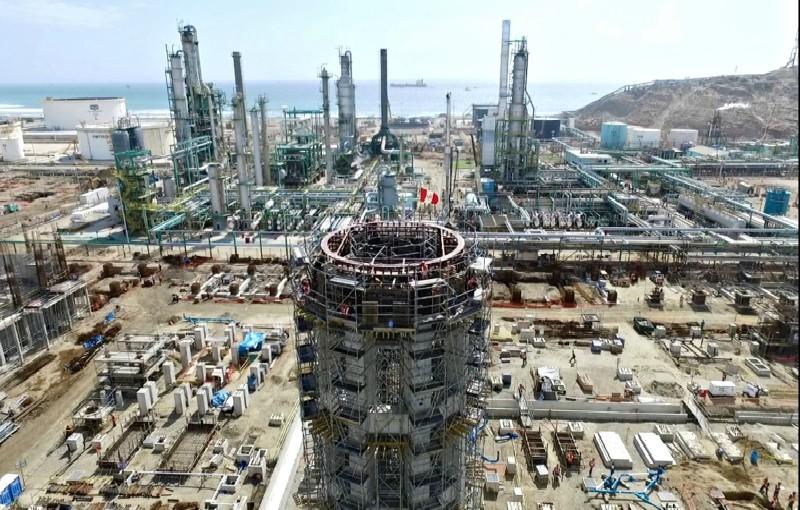 Refinería de Talara empezará a operar desde el 2019, según presidente de la República
