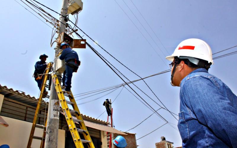 Electrificación rural al 90% para el 2021
