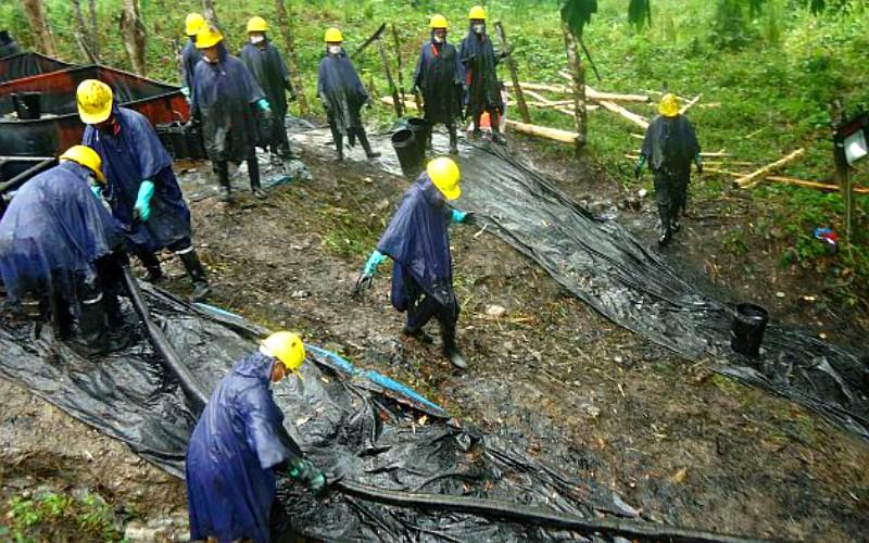Petroperú solicita acceso para reparar fuga de petróleo del Oleoducto Ramal Norte