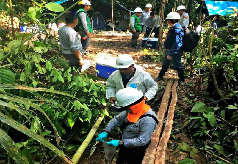 Petroperú inició la reparación de la tubería de Oleoducto en la comunidad Chapis