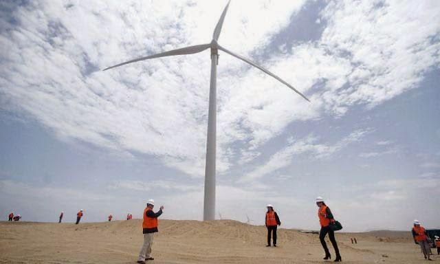 Las energía eólicas aumentaron durante la primera mitad del 2018