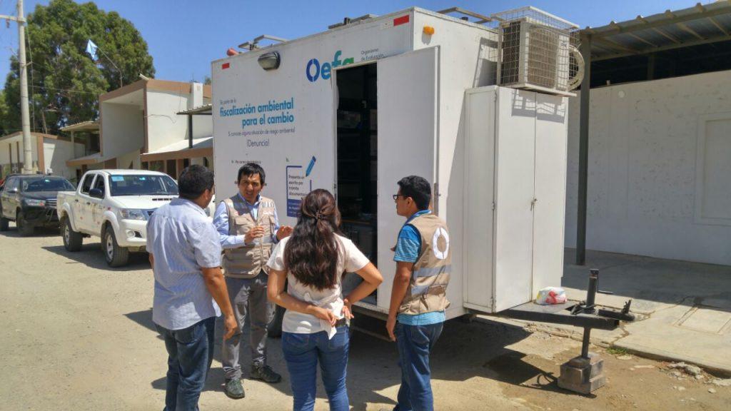 OEFA inicio la vigilancia ambiental del aire en Talara