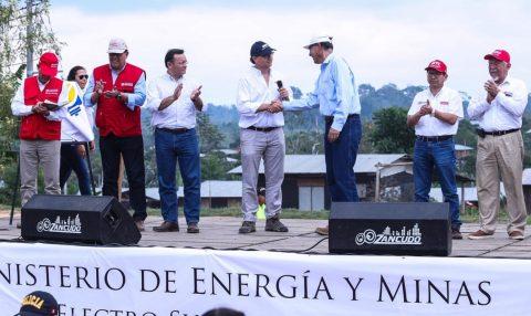 MEM: Servicio de energía eléctrica beneficiará a más de 2700 habitantes de Tahuamanu