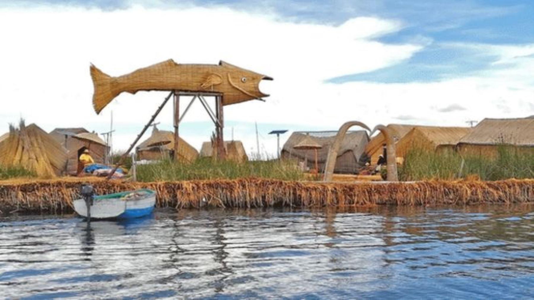 MEM: Habitantes de la Isla de los Uros accederán a energía eléctrica