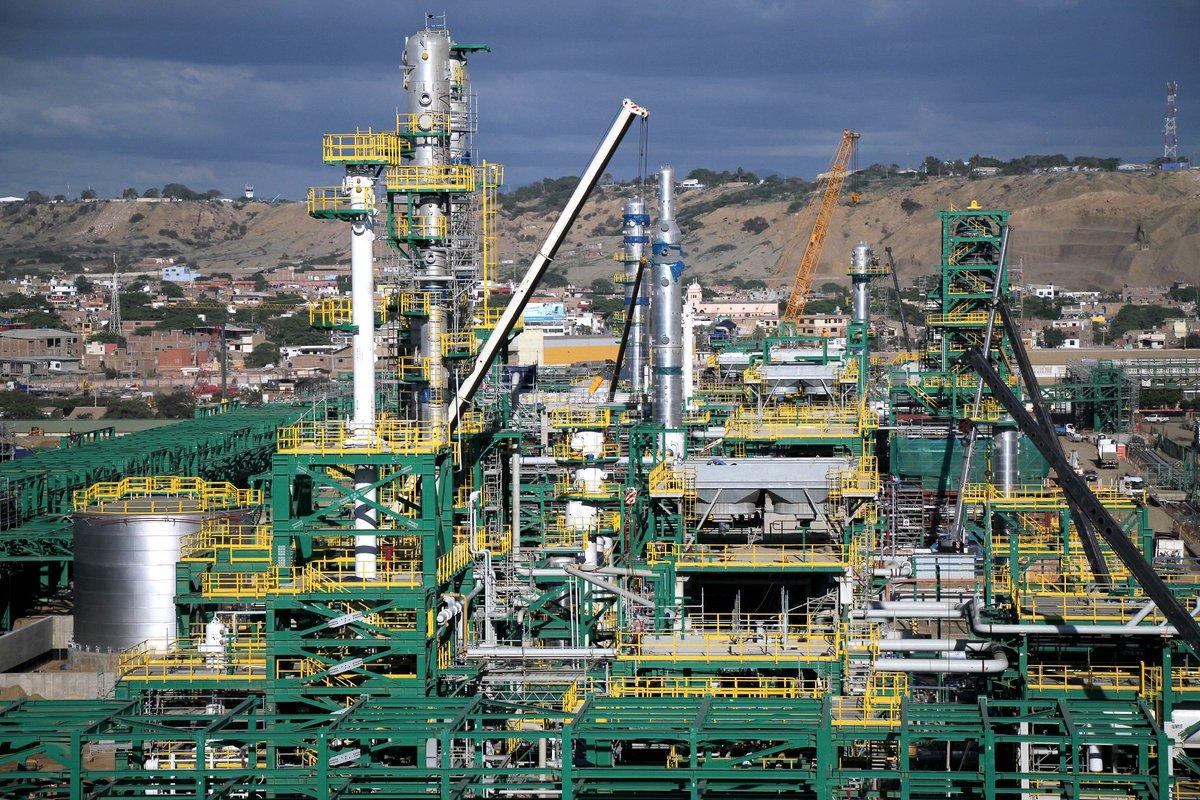 Petro Perú solicitará financiamiento al Gobierno por US$1.000 mlls. para la Refinería de Talara